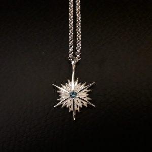 winter inspired pendant