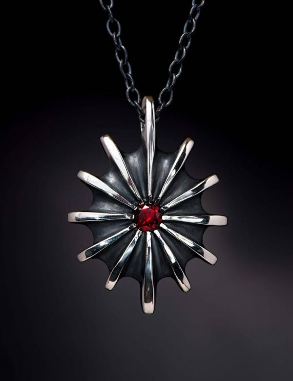 Time Pendant Necklace by Rob Morris