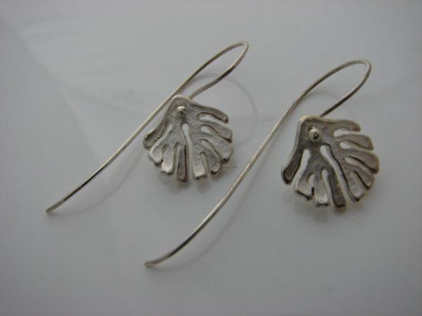Kelp Drop Earrings by Rob Morris