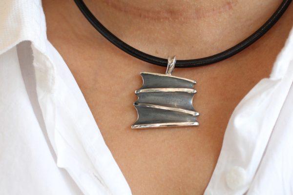 Medium Dusk Pendant Neckwear by Rob Morris