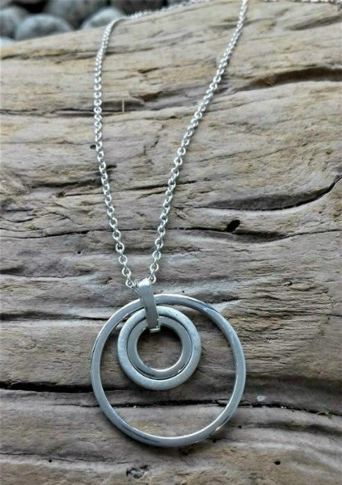 Target 3 Ring Pendant by Harriet Ferris