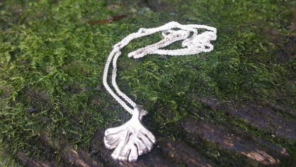 Small Kelp Pendant Necklace by Rob Morris