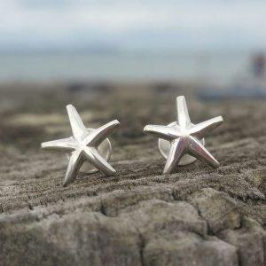 Starfish Studs by Rob Morris