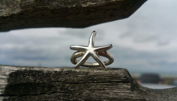 Starfish Ring by Rob Morris