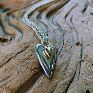 Amor Pendant Necklace with Gold Baby by Rob Morris