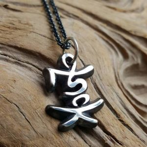 Fred Pendant Necklace by Rob Morris