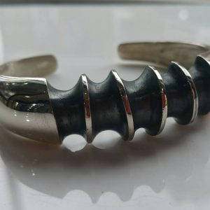 Medium Dusk Bangle by Rob Morris