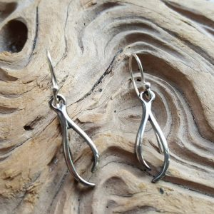 Stag Short Drop Earrings by Rob Morris